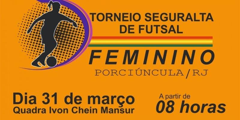 Mulheres disputam torneio regional de Futsal