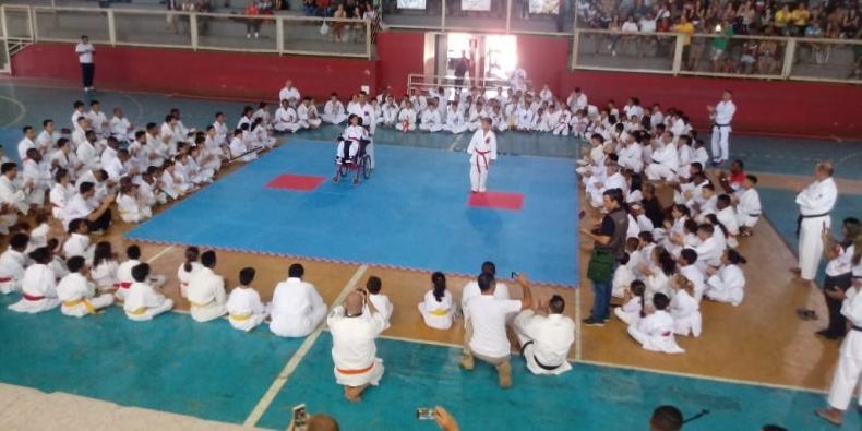 Porciúncula é destaque na 1ª Copa de Karatê Shotokan Interestilos de Muriaé